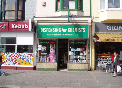 Ross Pharmacy East Sussex Dispensing Chemist