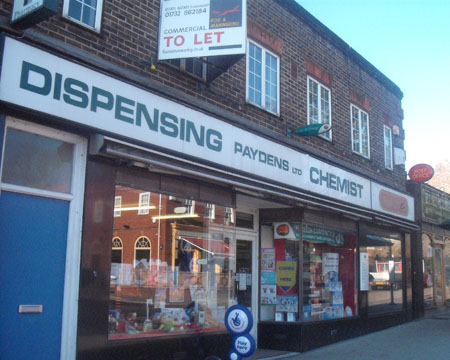 Paydens Ltd Kent Dispensing Chemist