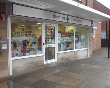 Stephens Pharmacy West Sussex Dispensing Chemist