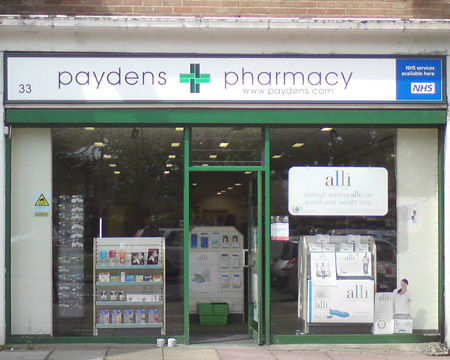 Paydens Pharmacy (Downs) Surrey Dispensing Chemist