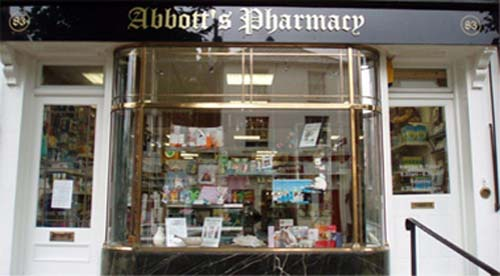 Abbott's Pharmacy Surrey Dispensing Chemist